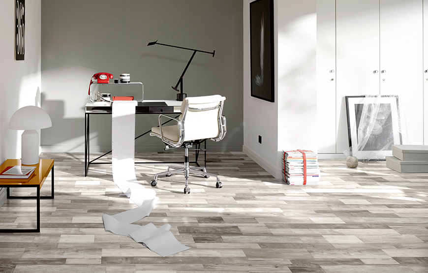 Best flooring for the home office and student's workspace