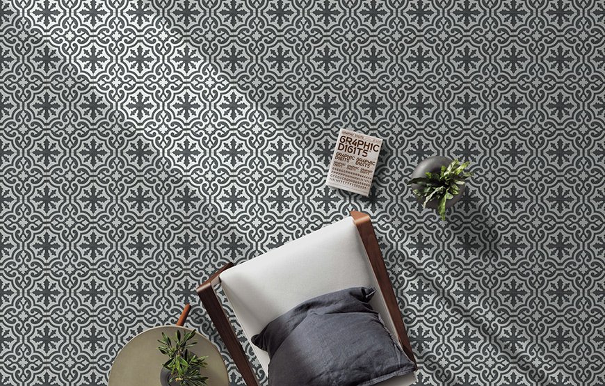 Cement Tiles 20x20 for walls and floors.
