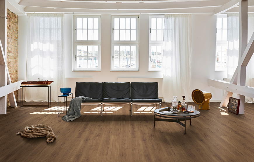 Parador Modular One. Resilient wood effect floor coverings.