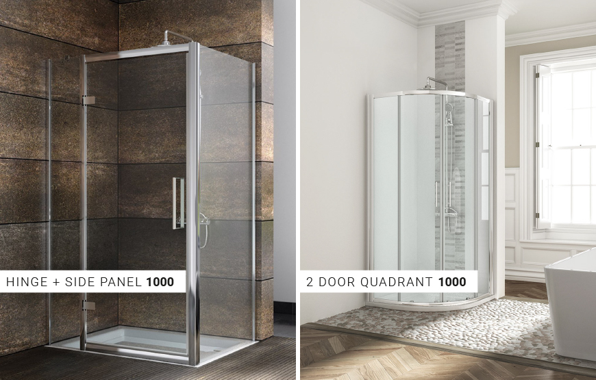Special offer. Shower doors in new price. 30% off