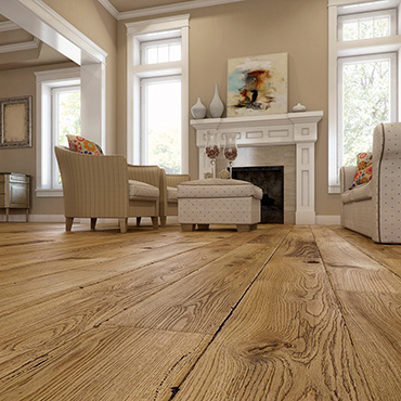 National Tile. Caislean Oak Collection. Custom luxury engineered wood flooring.