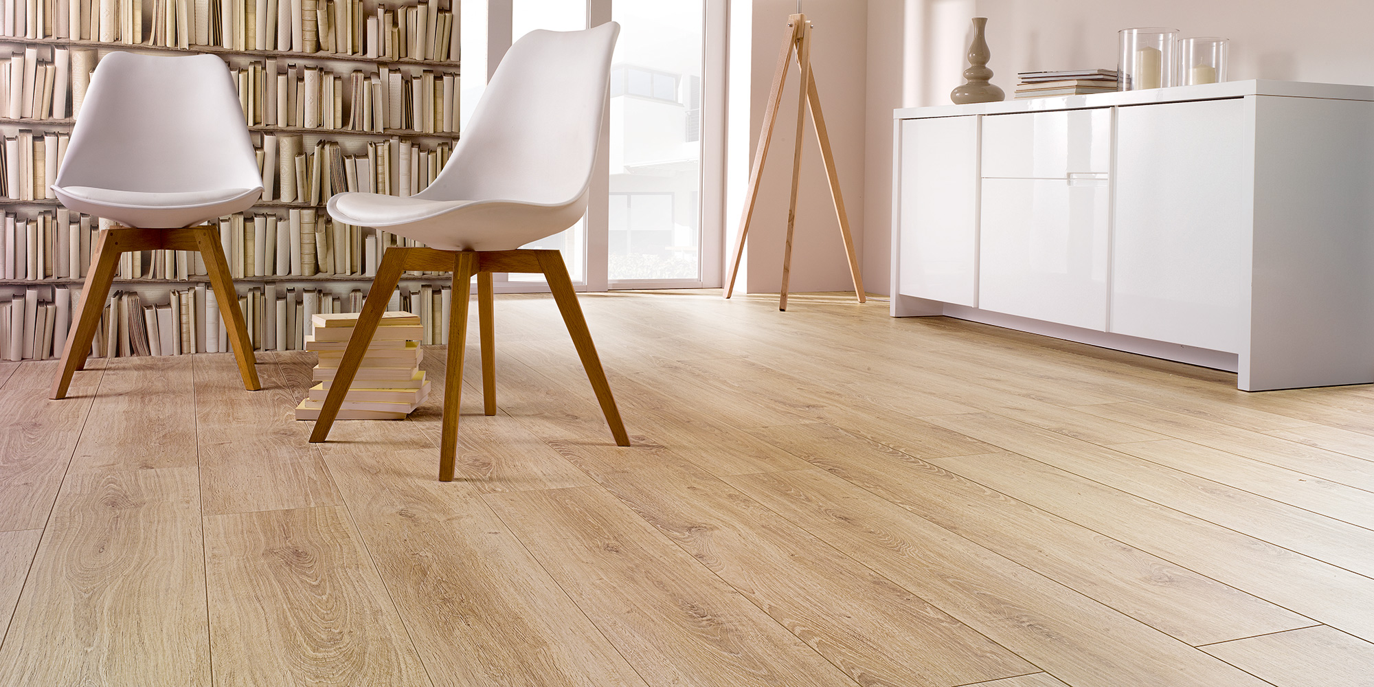 Top quality laminate wood flooring for renovated and new building floors in Ireland.