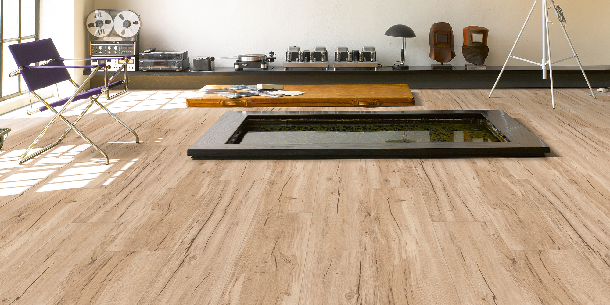 Parador Basic 5.3. Wood effect vinyl flooring.