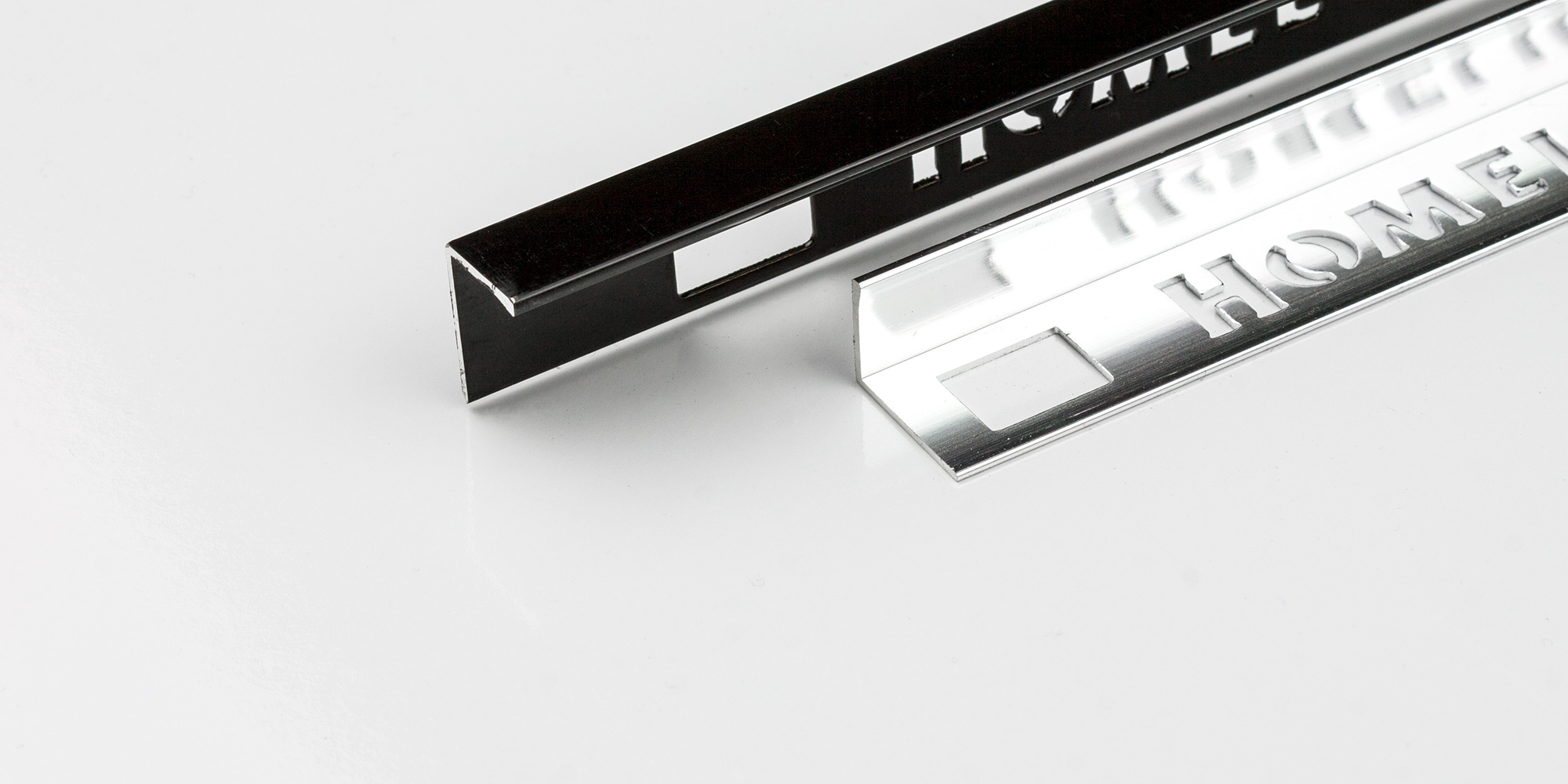 Tile accessories Homelux Ireland. Tile trims and profiles.