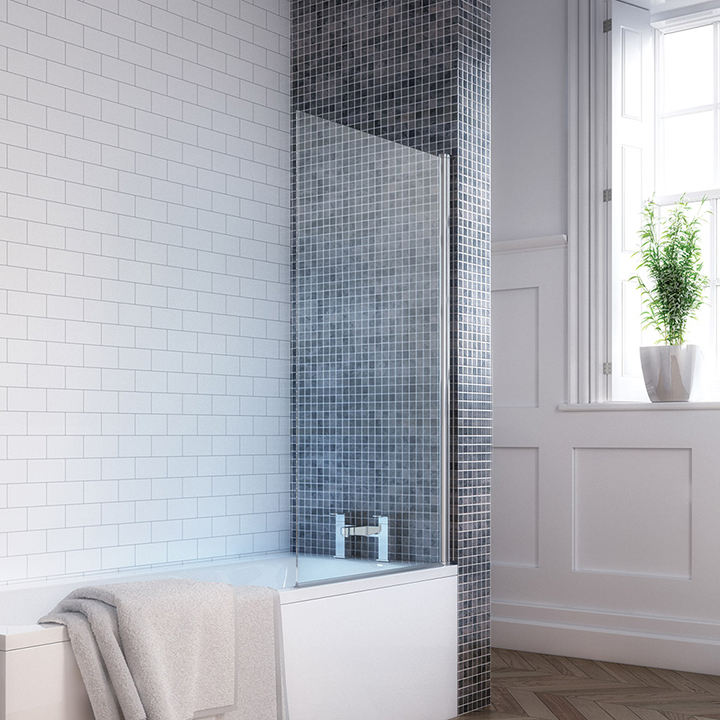 Square single bath screen