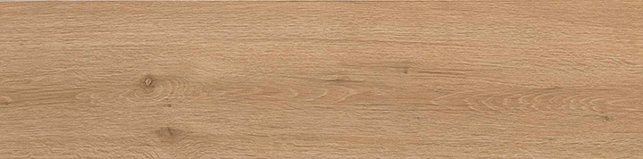 Breath Cognac 22.5x90. Oak plank look porcelain wall and floor tile with anti-slip rating R10 A.