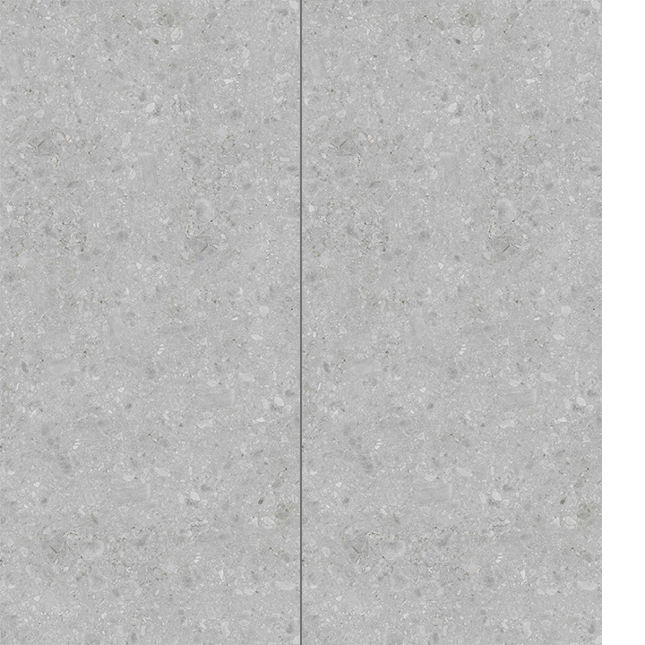 Ceramin Tiles Ireland. Volvera Roman Grey 1202x2550x3.2mm.