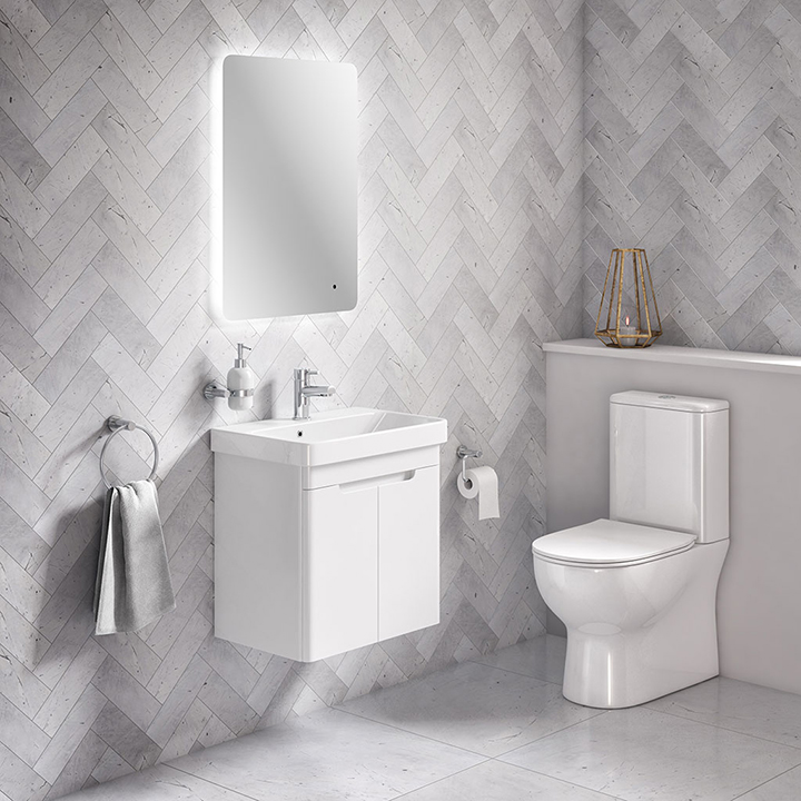 Bathroom furniture collection Ark wall hung