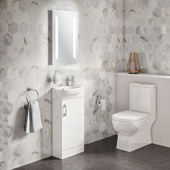 Bathroom furniture collection Casi Cloakroom