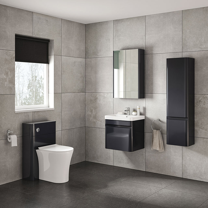 Bathroom furniture collection Casi wall unit