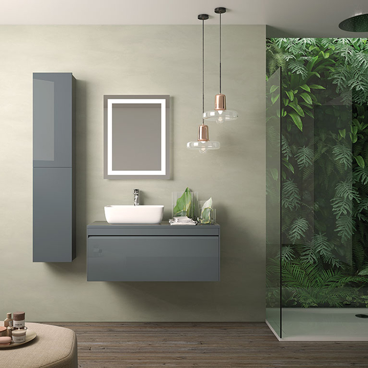 Bathroom furniture collection Hampton with freestanding Basin