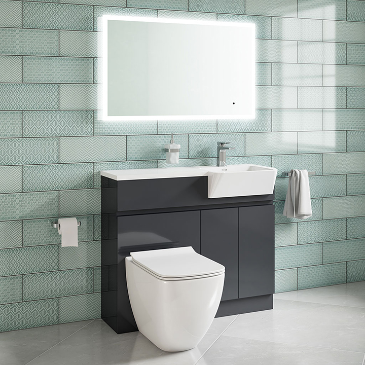 Bathroom furniture collection Sole