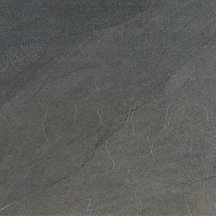 Halley Argent 60x60. Structured anti-slip natural stone look porcelain tile for walls and floors.