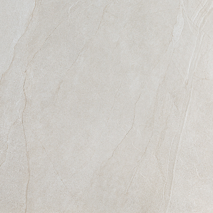 Halley Light 60x60. Structured anti-slip natural stone look porcelain tile for walls and floors.