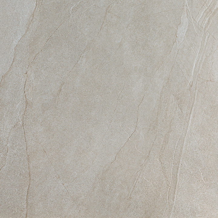 Halley Mud 60x60. Structured anti-slip natural stone look porcelain tile for walls and floors.