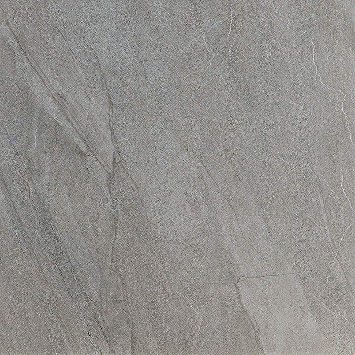 Halley Silver 60x60. Structured anti-slip natural stone look porcelain tile for walls and floors.