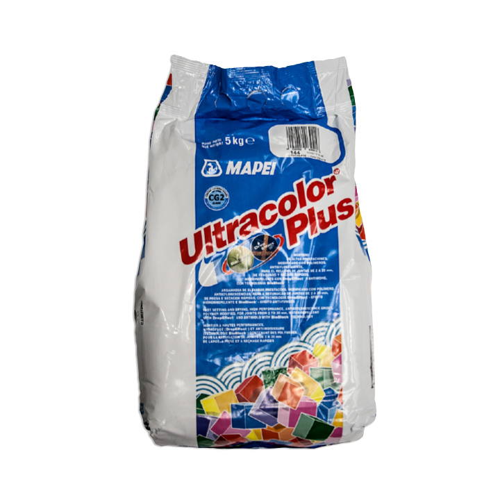 Mapei Ireland tile fixing solutions. Ultracolor Plus. Fast setting tile grout for joints 2-20mm.