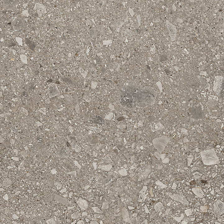 Mystone Ceppo Di Gre Greige 75x75. Large format stone look porcelain tile for architects and interior designers.