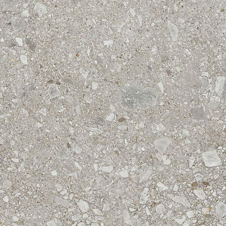 Mystone Ceppo Di Gre Grey 75x75. Large format stone look porcelain tile for architects and interior designers.