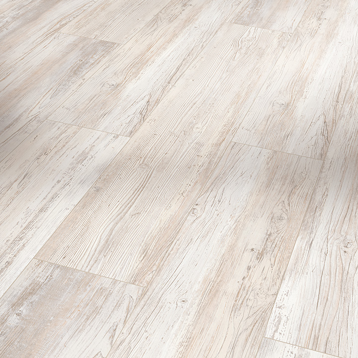 Parador Basic 5.3 Scandinavian White Pine 1209x225x5.3mm. Wood effect vinyl flooring.