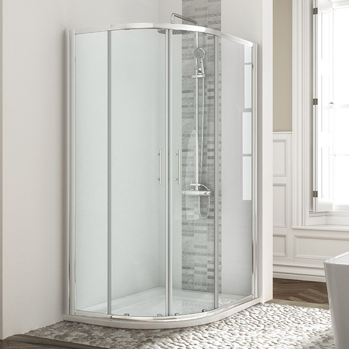 Shower enclosure - Two door offset Quadrant 900mm
