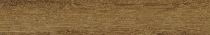 Treverklife Walnut 20x120. Extra long plank wood look rustic porcelain tile. Slip rating R9 A.