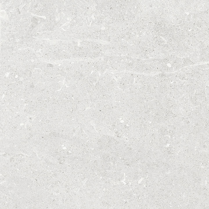 Uptown Sugar Hill 60x60. Concrete look porcelain tile with slip rating R10 C.