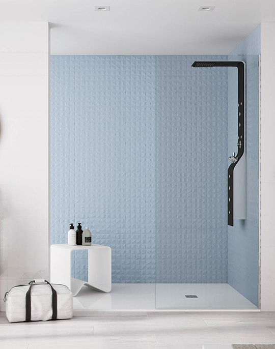 Cromatica 25x75 high gloss modern style monocolour wall tiles. View collection