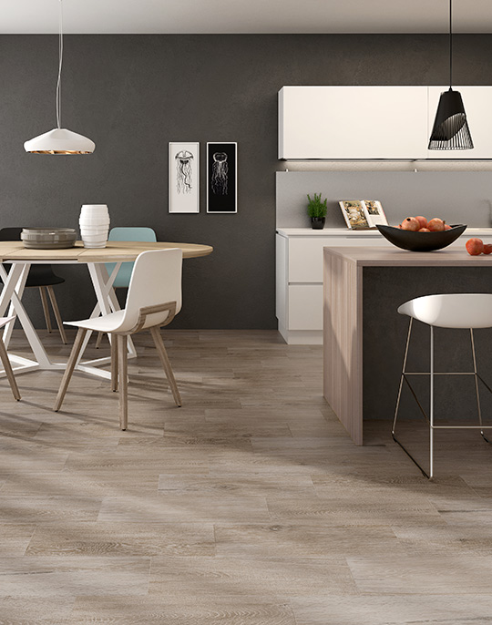 Hudson 22.5x90. Wood look porcelain tiles. View collection.
